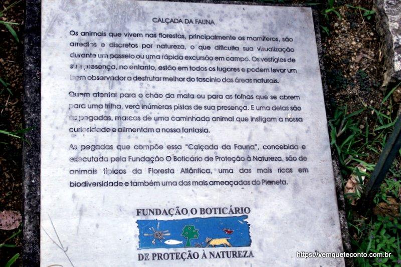 Calçada da Fauna - Parque Nacional do Itatiaia - RJ