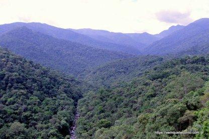 Vista da Serra do Mar - Parque Nacional do Itatiaia/RJ