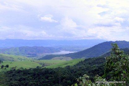 Vista do Vale do Rio Campo Belo - Parque Nacional do Itataia/RJ