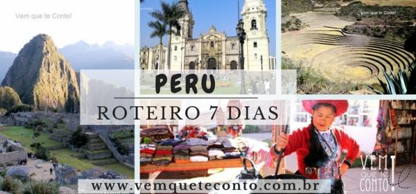 Peru - Roteiro 7 dias