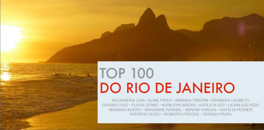 Capa e-book Top 100 do Rio de Janeiro