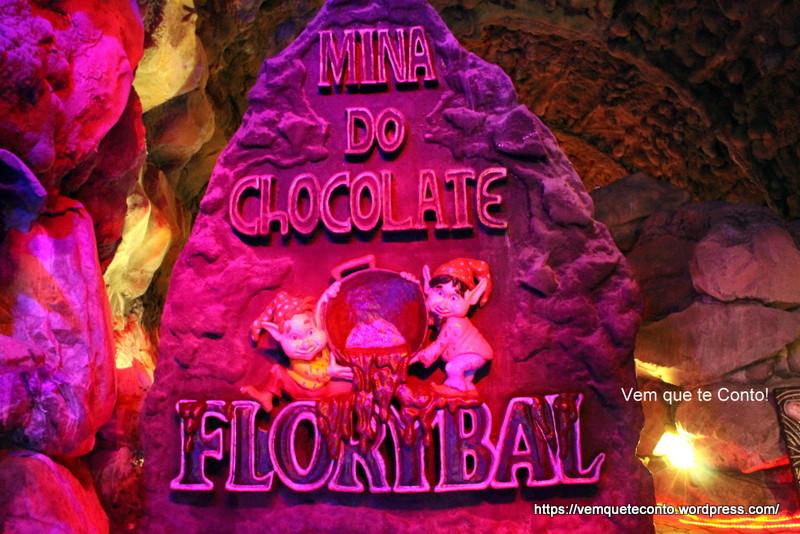 Mina do Chocolate Parque Terra Mágica Florybal