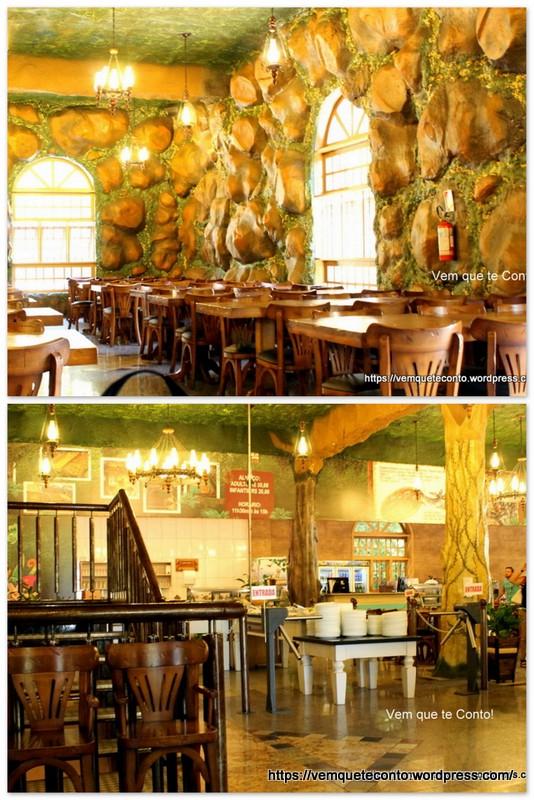 Restaurante no Castelo - Parque Terra Mágica Florybal