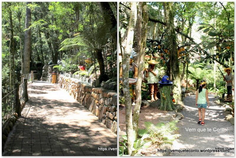 Trilhas - Parque Terra Mágica Florybal