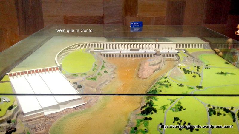Maquete Hidrelétrica de Itaipu