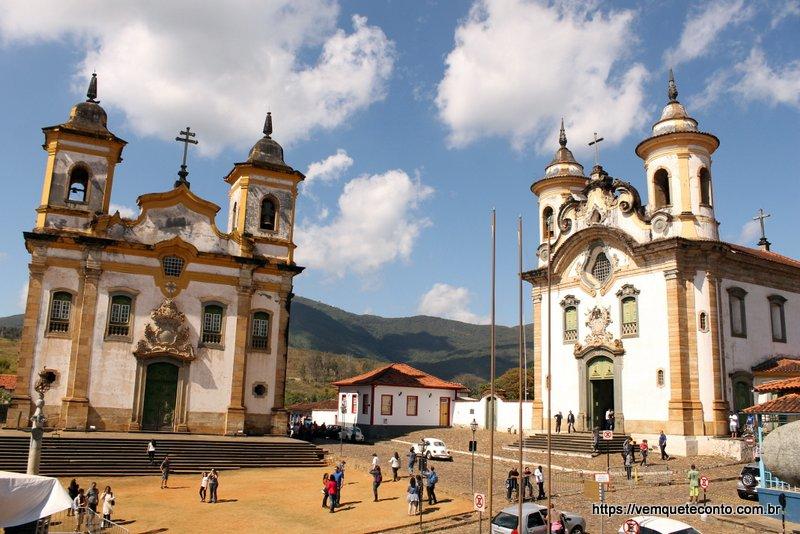 """""""Igrejas irmãs"""" de Mariana/MG"""