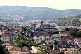 Vista da cidade de Mariana - MG