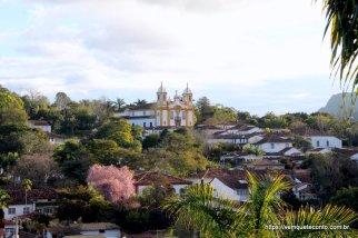 Vista da cidade de Tiradentes/MG
