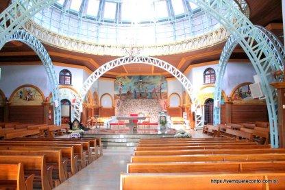 Santuário Nossa Senhora de Caravaggio - Nova Veneza/SC