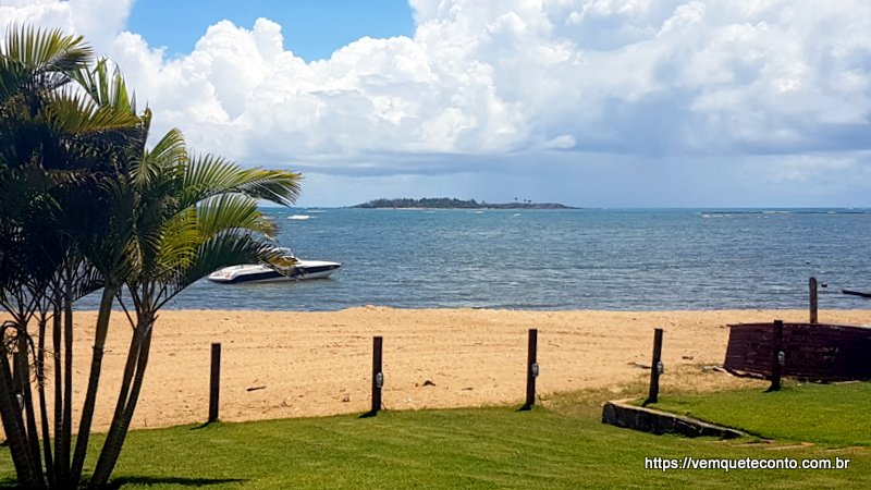 Vista da Ilha de Santo Aleixo em Barra de Sirinhaém
