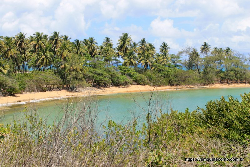 Praia da Ferradura - Ilha de Santo Aleixo